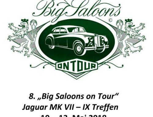 Einladung Big Saloons on Tour – 10.-13. Mai 2018