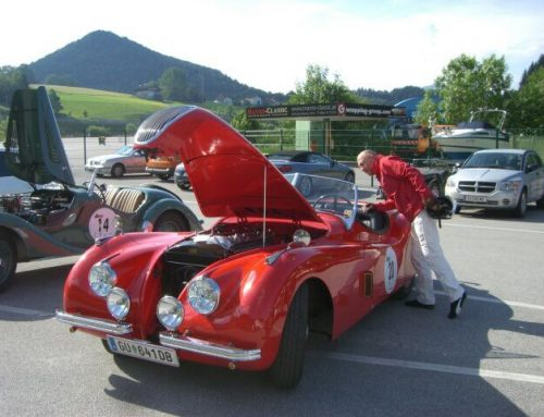 For Sale – Jaguar XK120 OTS (LHD) yoc. 1951