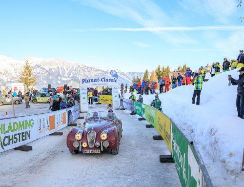 Planai Classic 2018 – Zwei Jaguare im Schnee,…