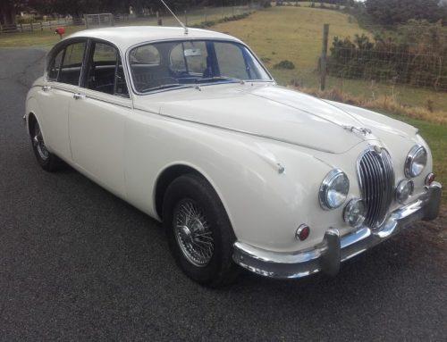 Verkaufe Jaguar Mk II, 3,8 l. OD, RHD 1961