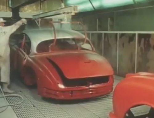 1961 Jaguar Factory Tour