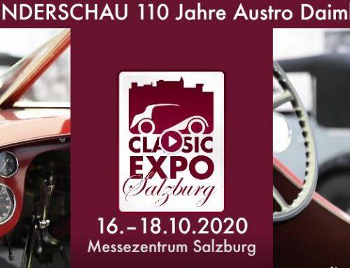 Einladung zur 16. Classic-Expo in Salzburg