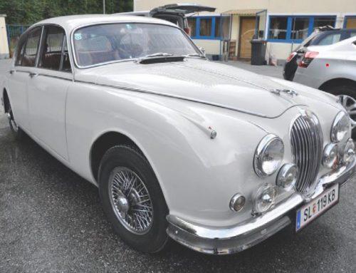 Zu verkaufen – Jaguar MK2 1961