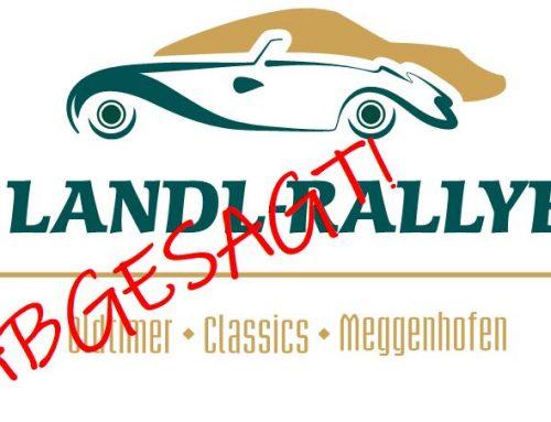 Landl-Rallye 2021 abgesagt